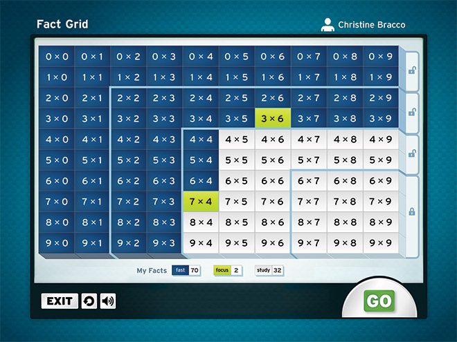 Teach Math Facts: Software Games for Struggling Students