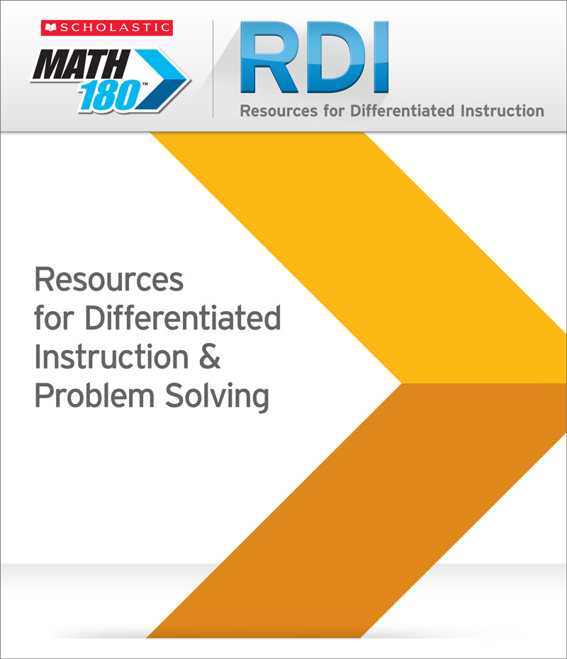 Program Components Of Our Math Curriculum Math 180