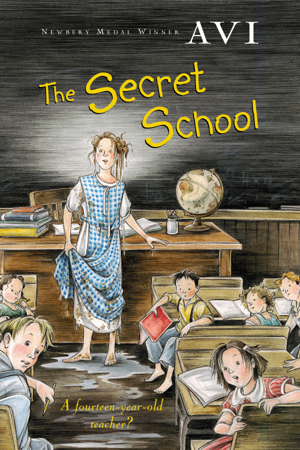 The Secret School-9780152046996