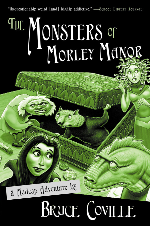 The Monsters of Morley Manor-9780152047054