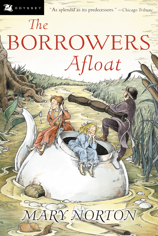 The Borrowers Afloat-9780152047337