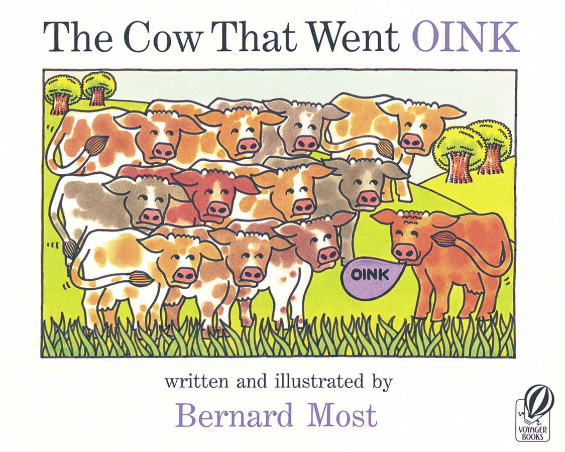 The Cow That Went OINK-9780152047634