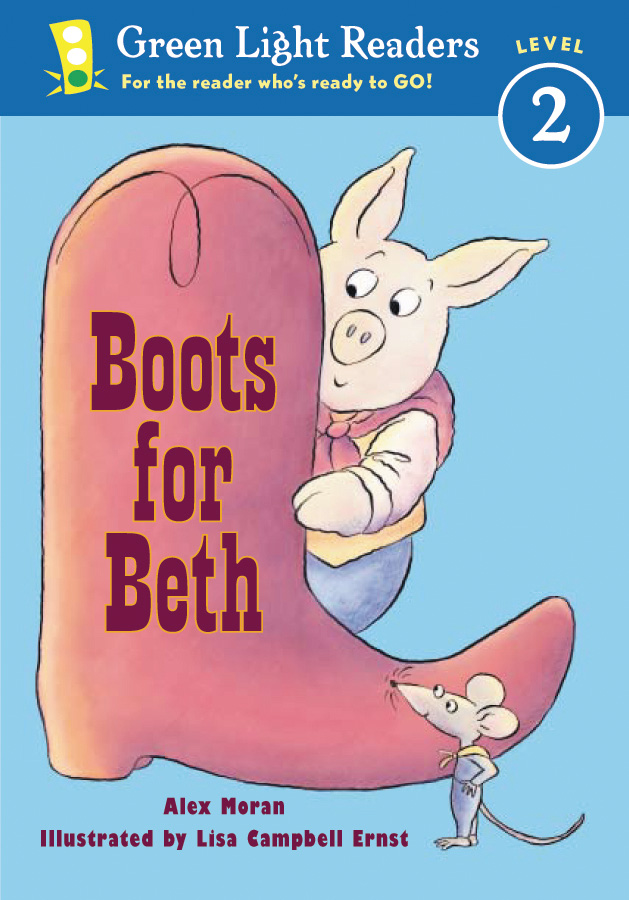 Boots for Beth-9780152048389