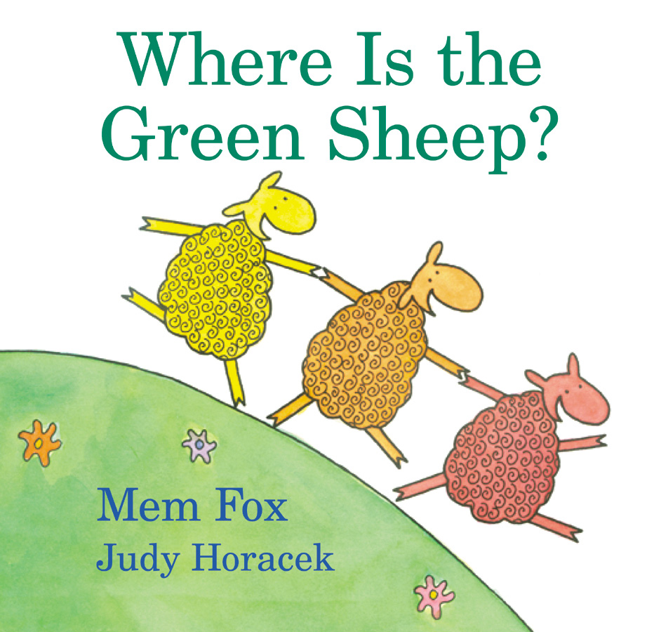 Where Is the Green Sheep?-9780152049072