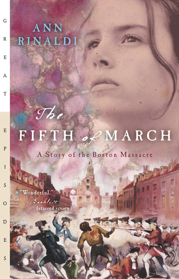 The Fifth of March-9780152050788