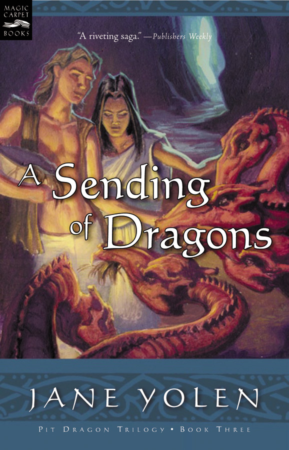 A Sending of Dragons-9780152051280