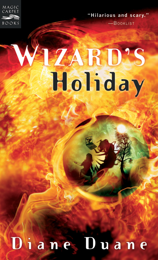 Wizard's Holiday-9780152052072