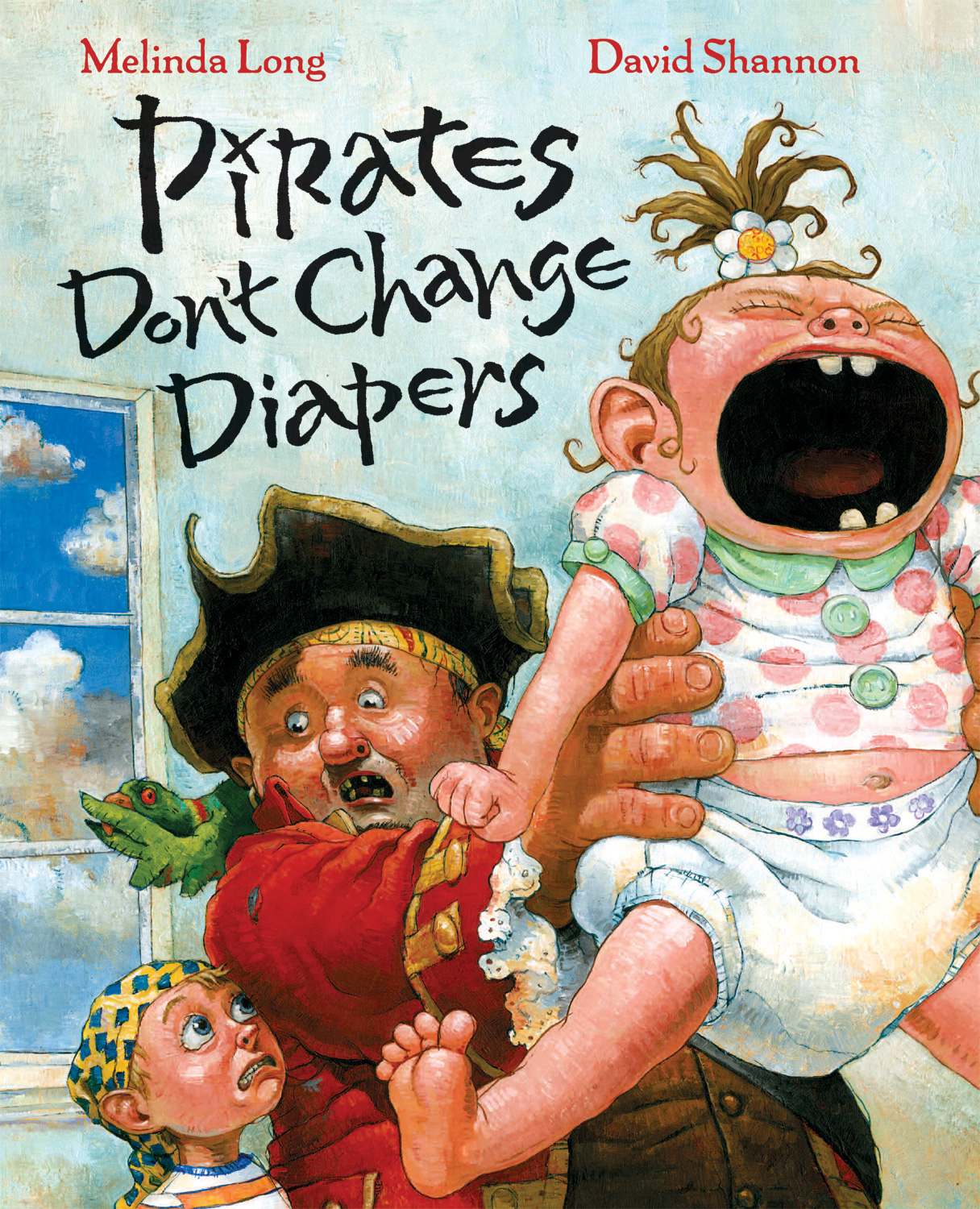 Pirates Don't Change Diapers-9780152053536