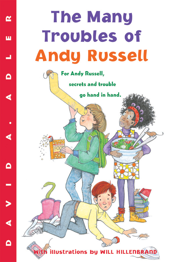 The Many Troubles of Andy Russell-9780152054403