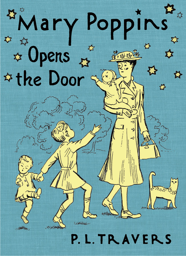 Mary Poppins Opens the Door-9780152058227