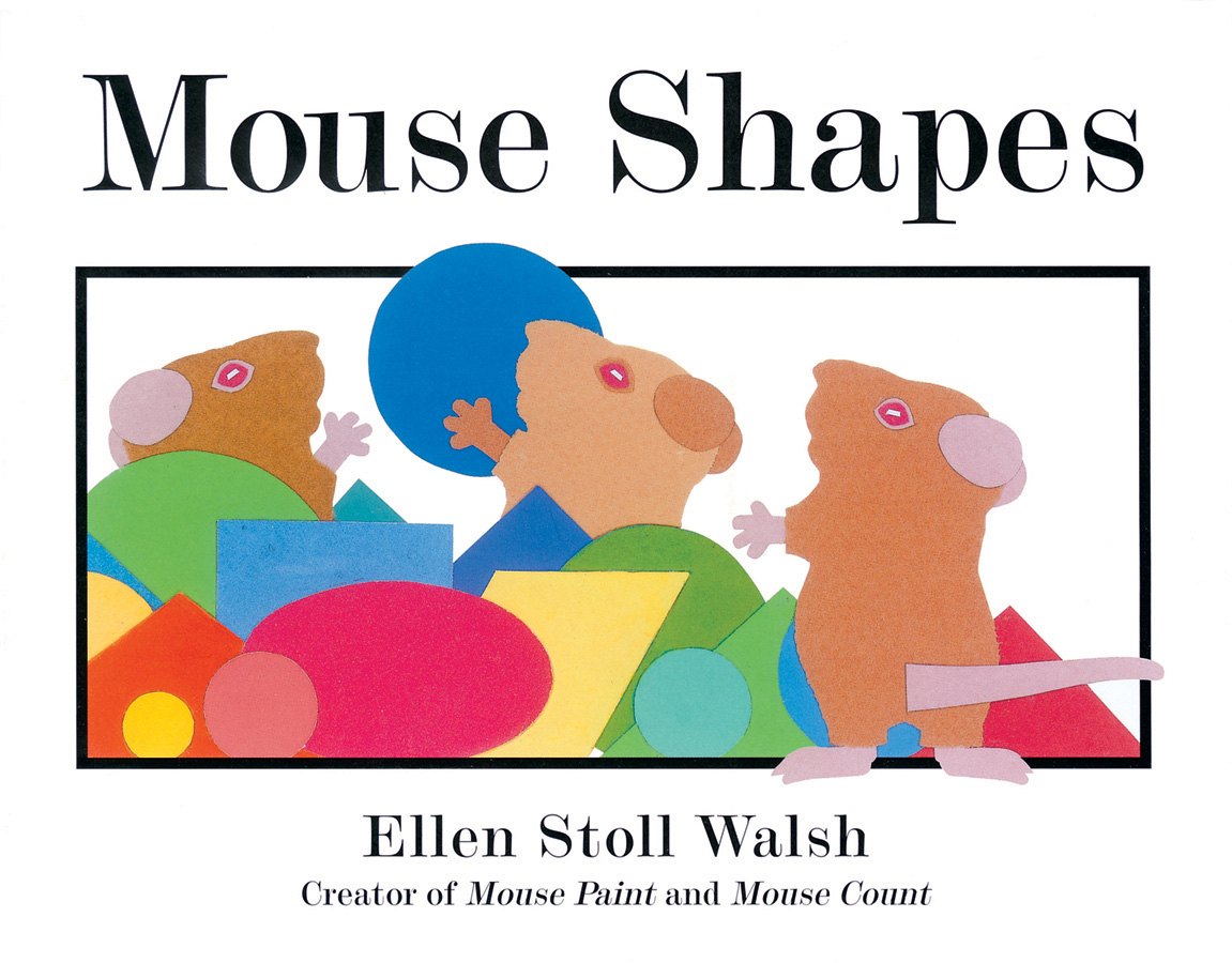 Mouse Shapes-9780152060916
