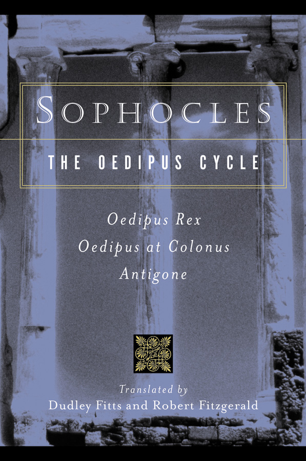 Sophocles, The Oedipus Cycle-9780156027649