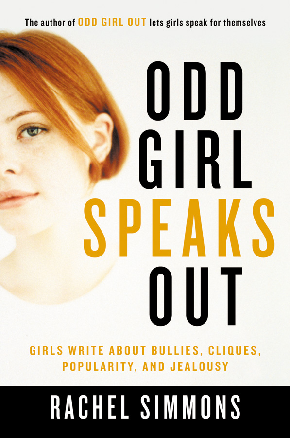 Odd Girl Speaks Out-9780156028158