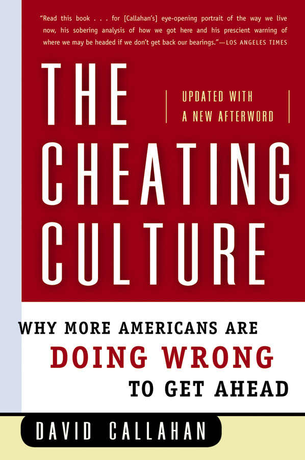 The Cheating Culture-9780156030052