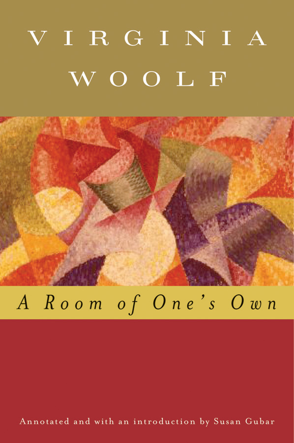 A Room of One's Own (Annotated)-9780156030410