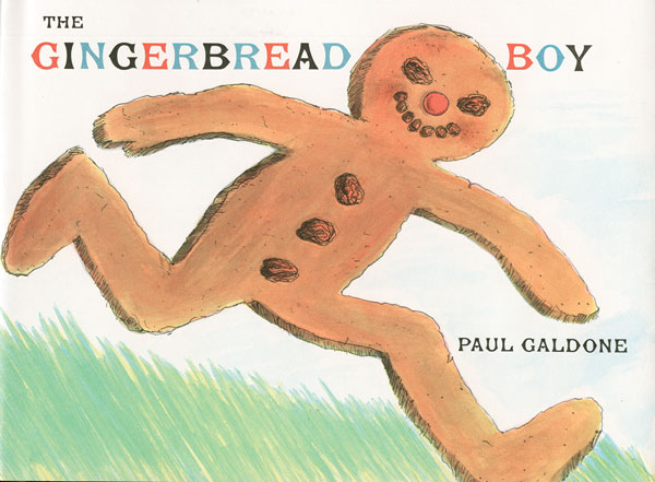 The Gingerbread Boy-9780395287996