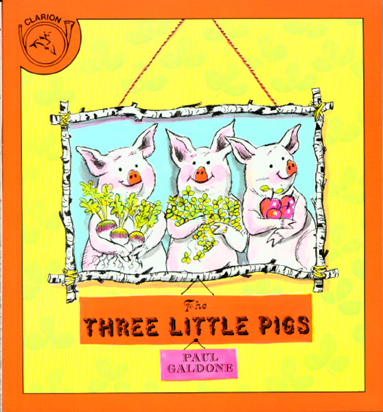The Three Little Pigs-9780395288139