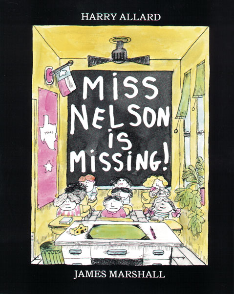 Miss Nelson Is Missing!-9780395401460