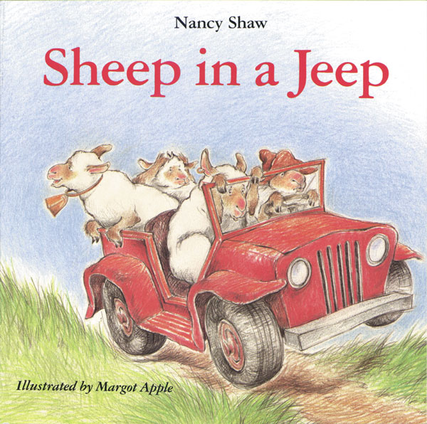 SHEEP IN A JEEP-9780395470305