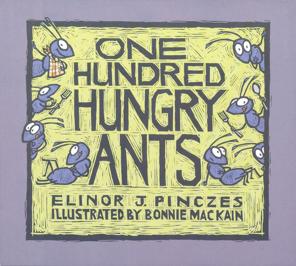 One Hundred Hungry Ants-9780395971239
