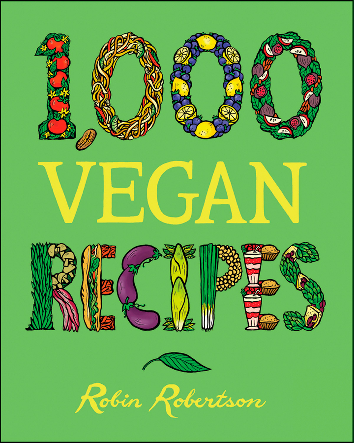 1,000 Vegan Recipes-9780470085028