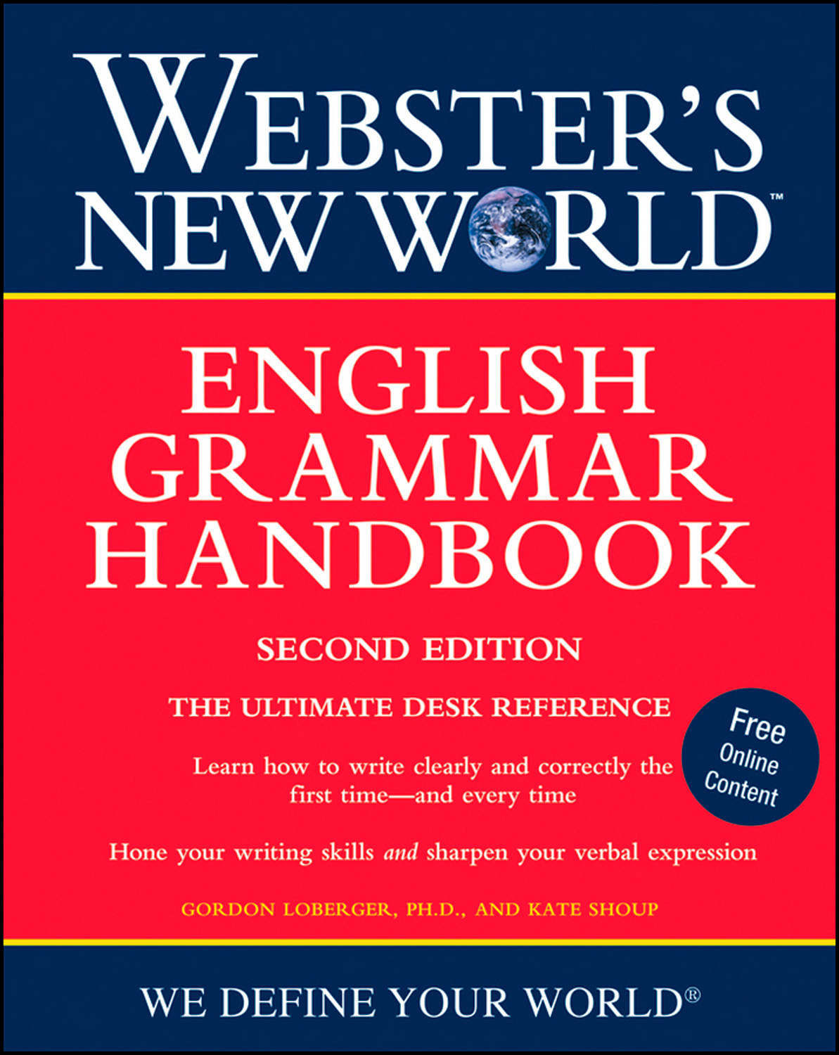 Webster's New World English Grammar Handbook, Second Edition-9780470410806
