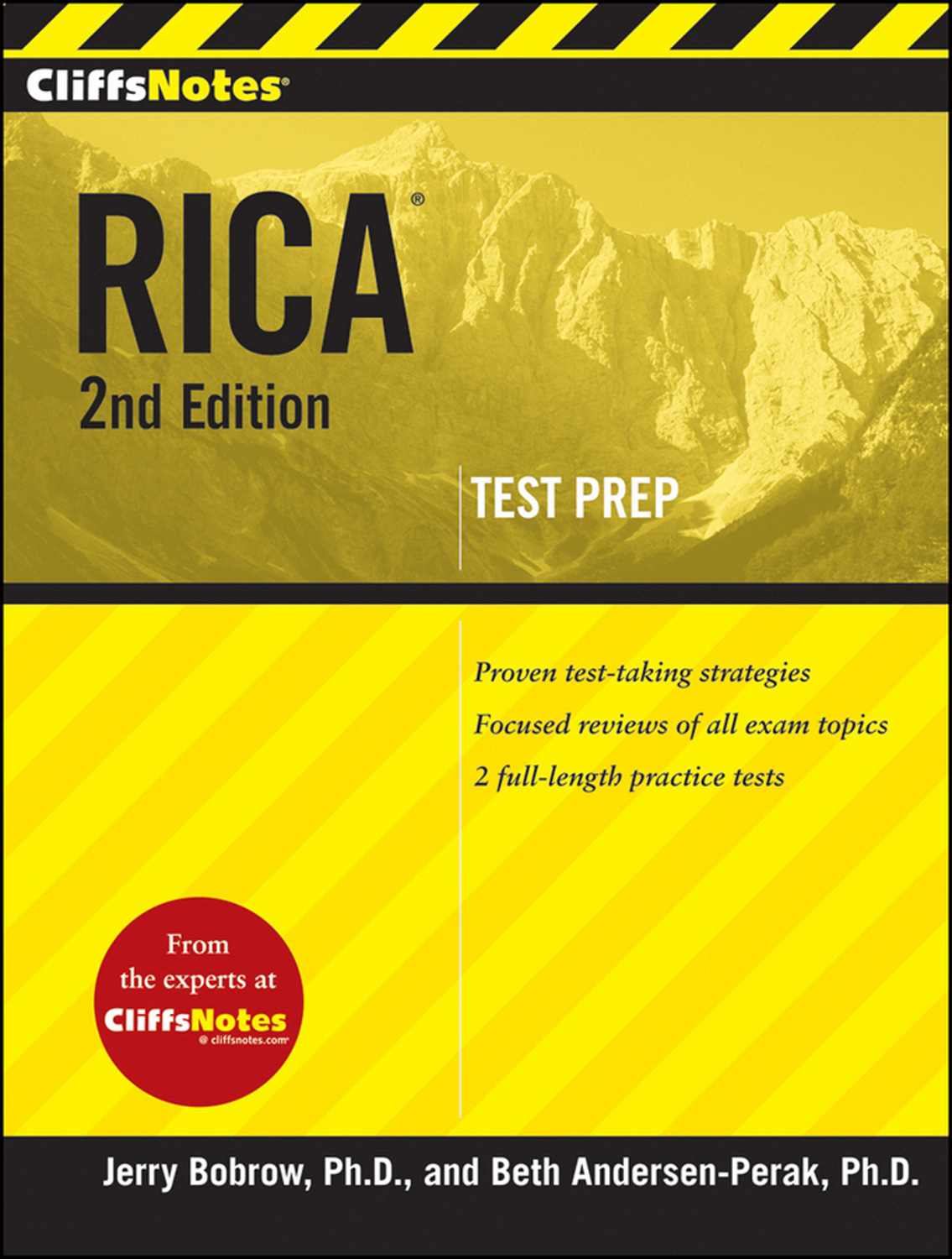 CliffsNotes RICA 2nd Edition-9780470587300