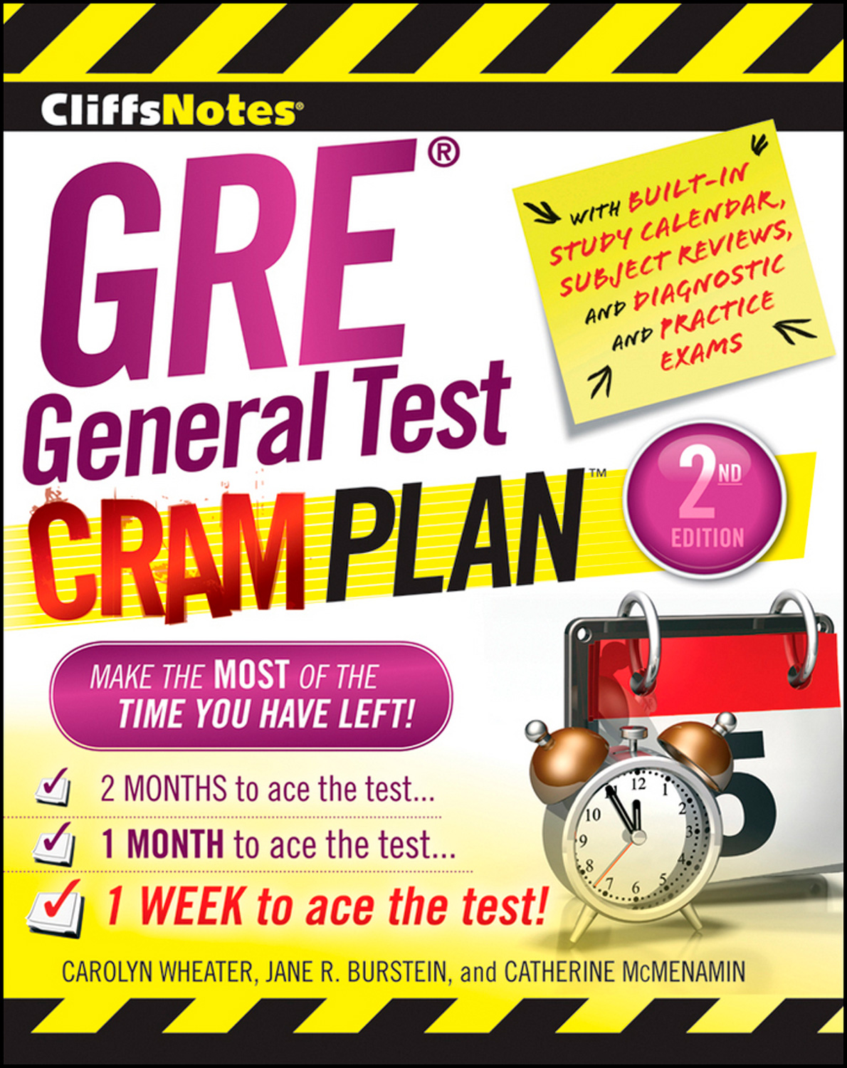 CliffsNotes GRE General Test Cram Plan 2nd Edition-9780470878736