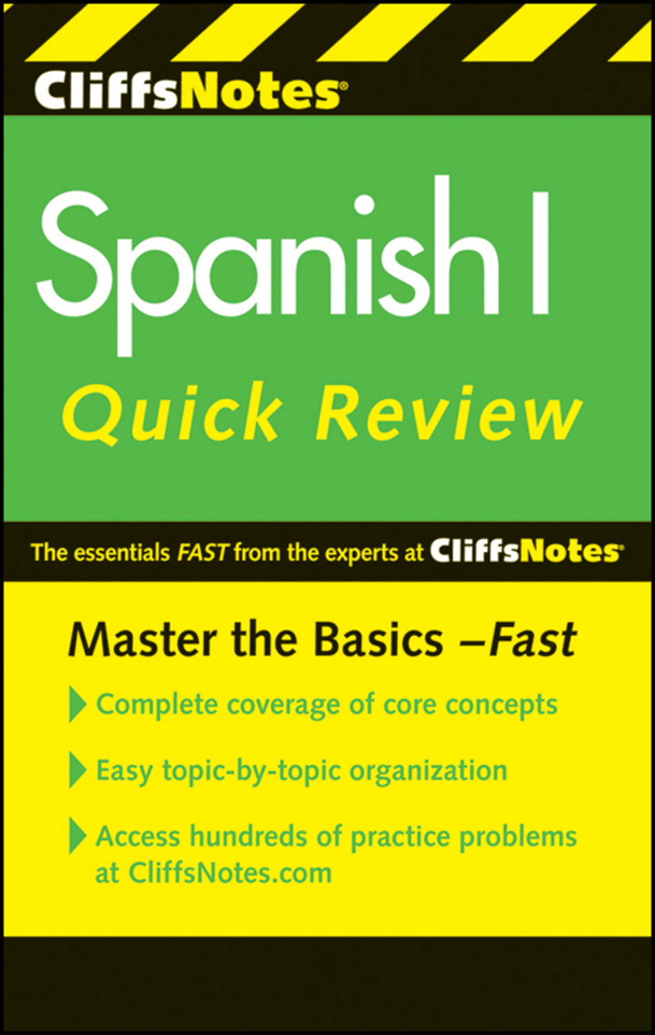 CliffsNotes Spanish I Quick Review, 2nd Edition-9780470878750