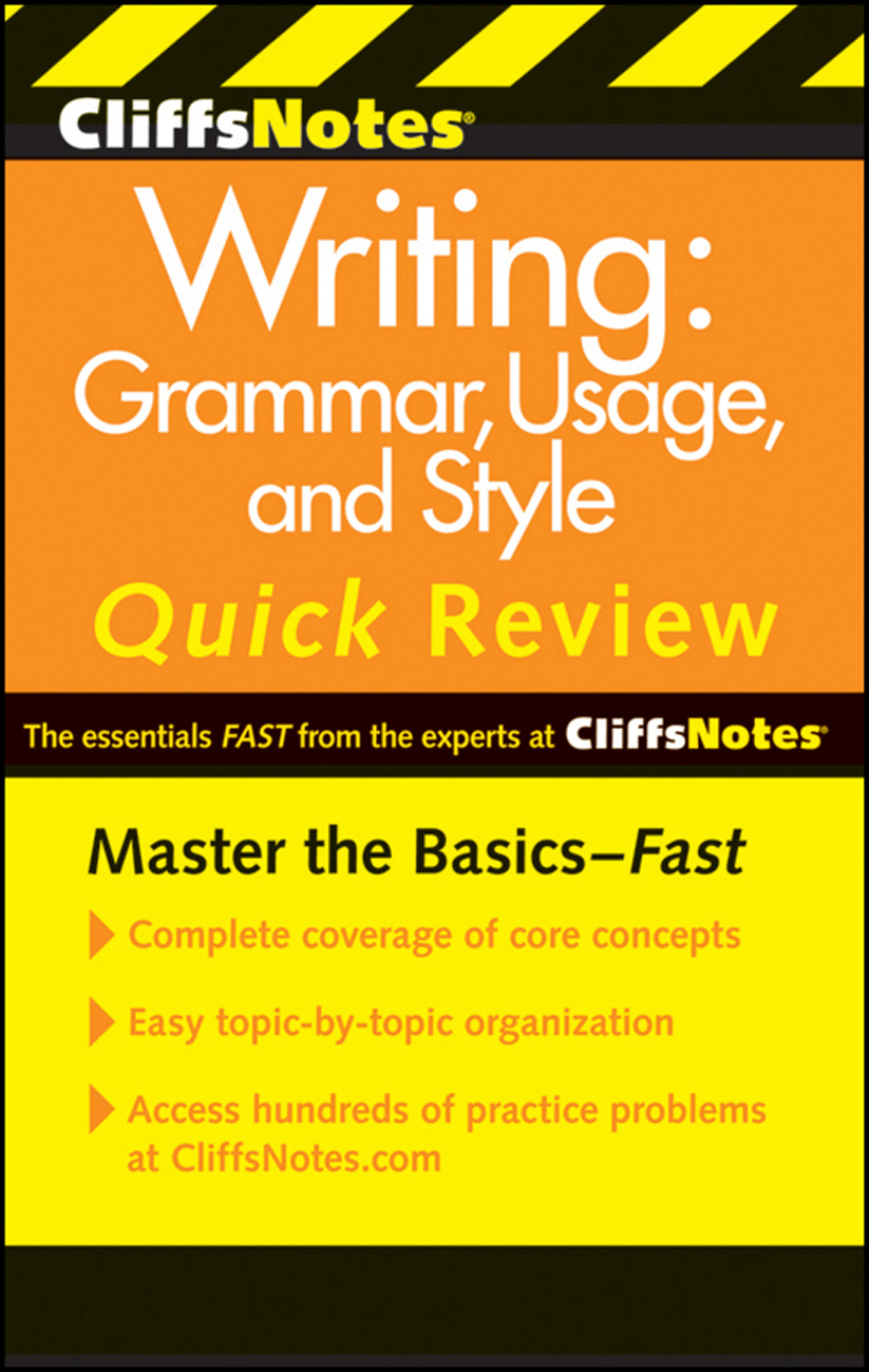CliffsNotes Writing: Grammar, Usage, and Style Quick Review, 3rd Edition-9780470880784