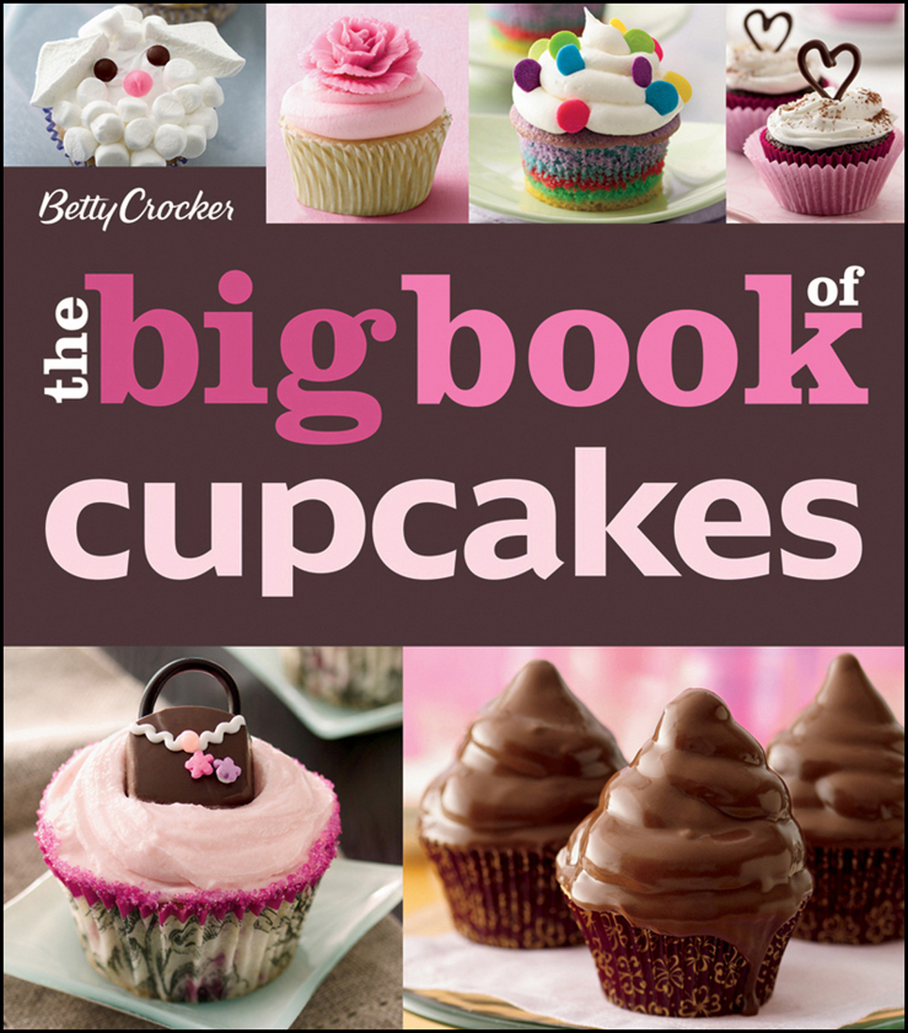 The Betty Crocker The Big Book of Cupcakes-9780470906729