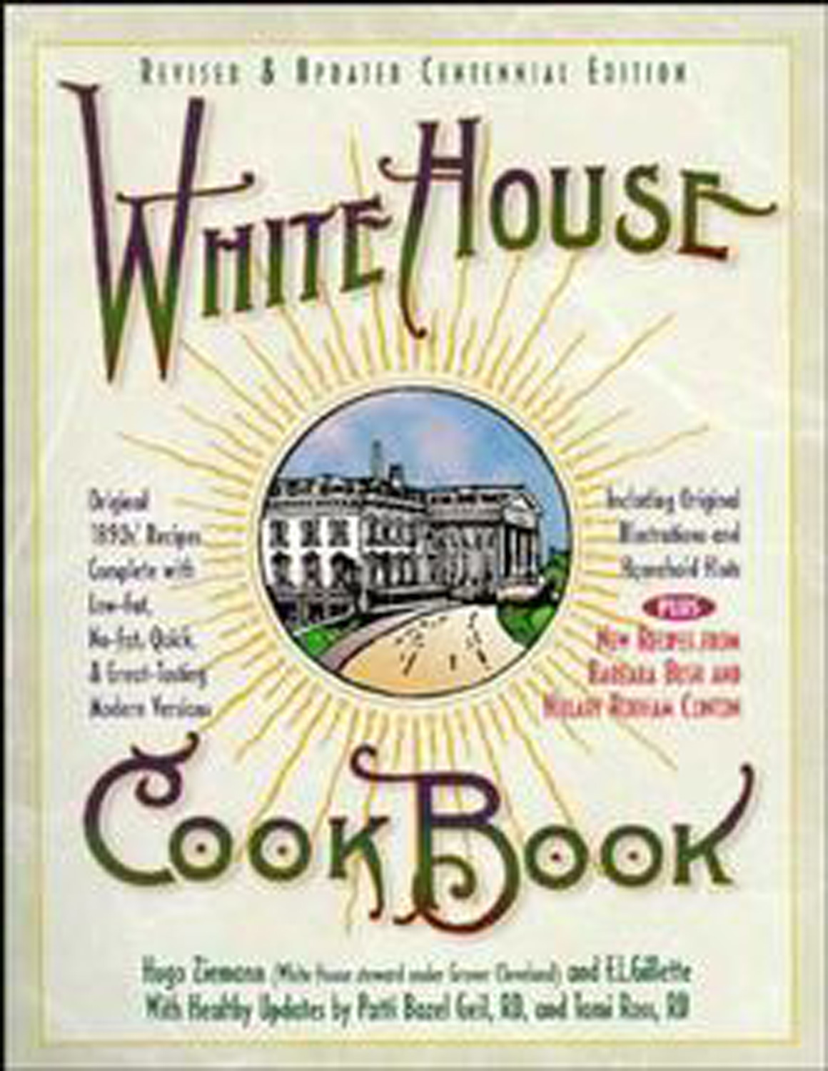White House Cookbook Revised & Updated Centennial Edition-9780471347521