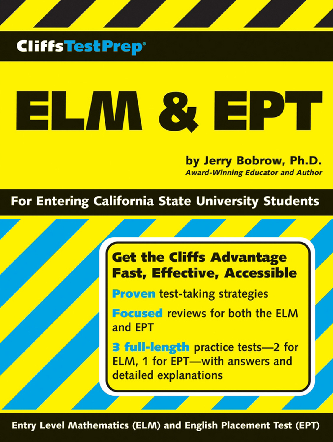 CliffsTestPrep ELM & EPT-9780471786788