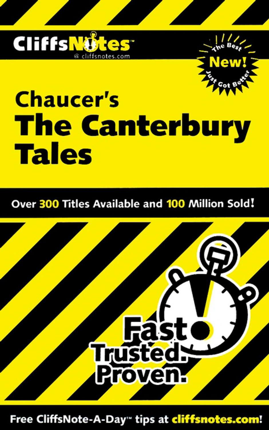 CliffsNotes on Chaucer's The Canterbury Tales-9780544180147