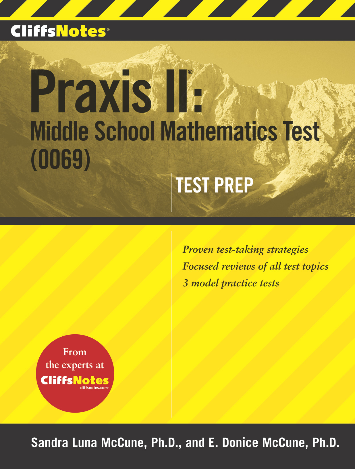 CliffsNotes Praxis II: Middle School Mathematics Test (0069) Test Prep-9780544183476