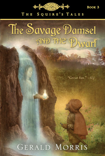 The Savage Damsel and the Dwarf-9780547014371