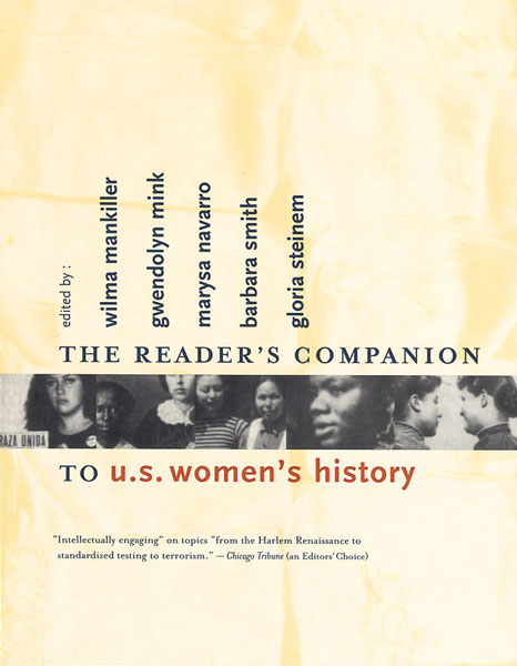 The Reader's Companion to U.S. Women's History-9780618001828