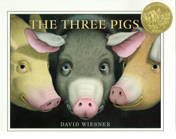 The Three Pigs-9780618007011