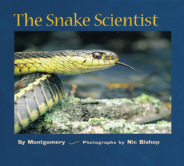 The Snake Scientist-9780618111190