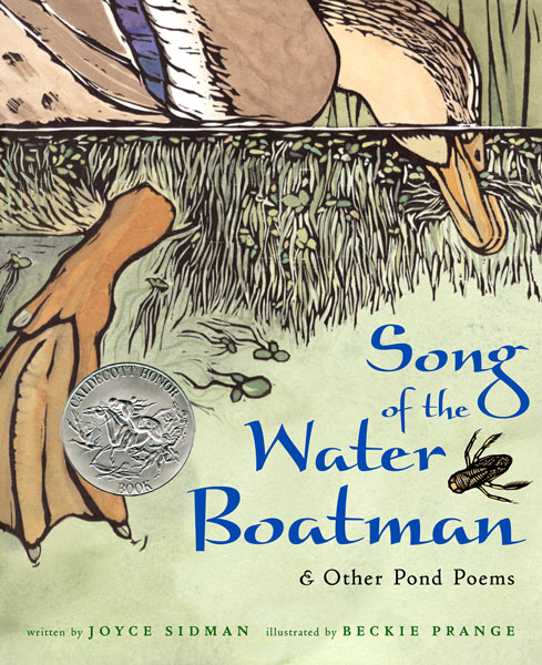 Song of the Water Boatman and Other Pond Poems-9780618135479