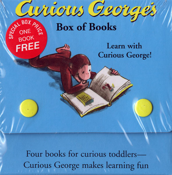 Curious George's Box of Books-9780618226115