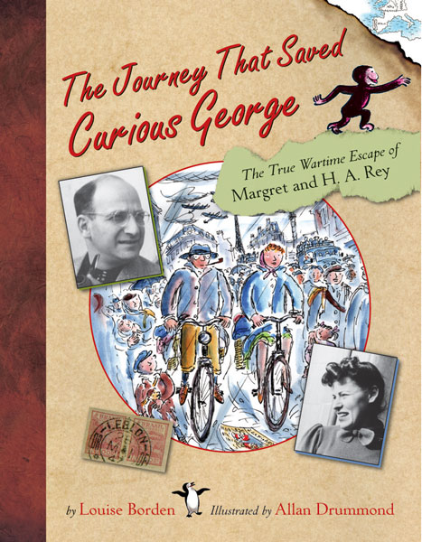 The Journey That Saved Curious George-9780618339242