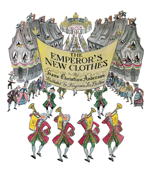 The Emperor's New Clothes-9780618344208