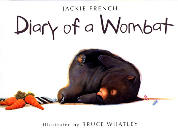 Diary of a Wombat-9780618381364