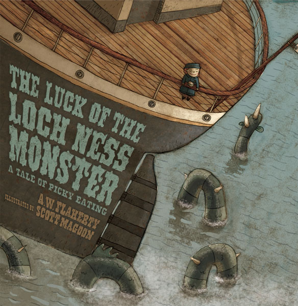 Luck of the Loch Ness Monster-9780618556441