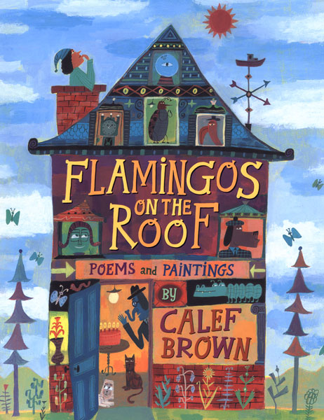 Flamingos on the Roof-9780618562985