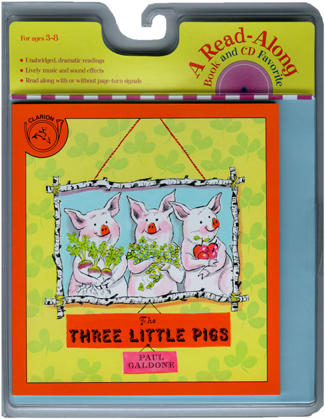 The Three Little Pigs Book & CD-9780618732777