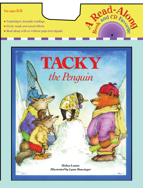 Tacky the Penguin Book & CD-9780618737543