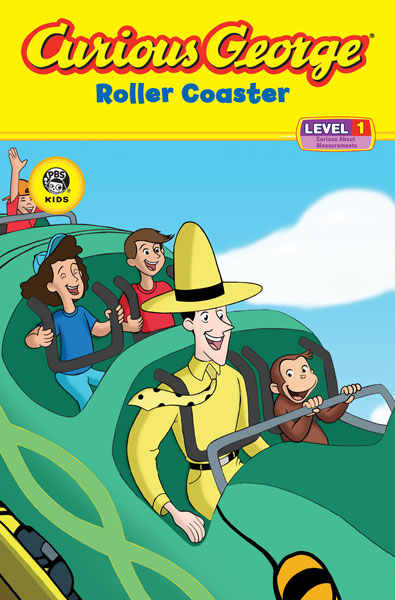Curious George Roller Coaster (CGTV Reader)-9780618800407