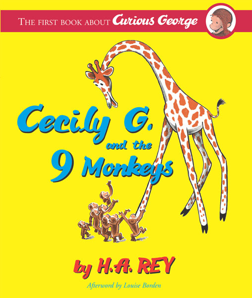 CURIOUS GEORGE CECILY G AND 9 MONKEYS CL-9780618800667
